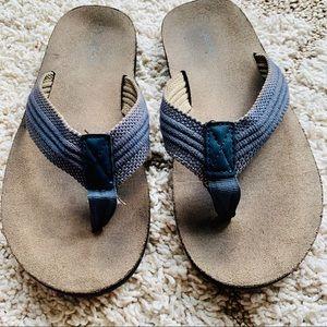 Cherokee Boys' Sandals, Flip flops, Size L(4/5)